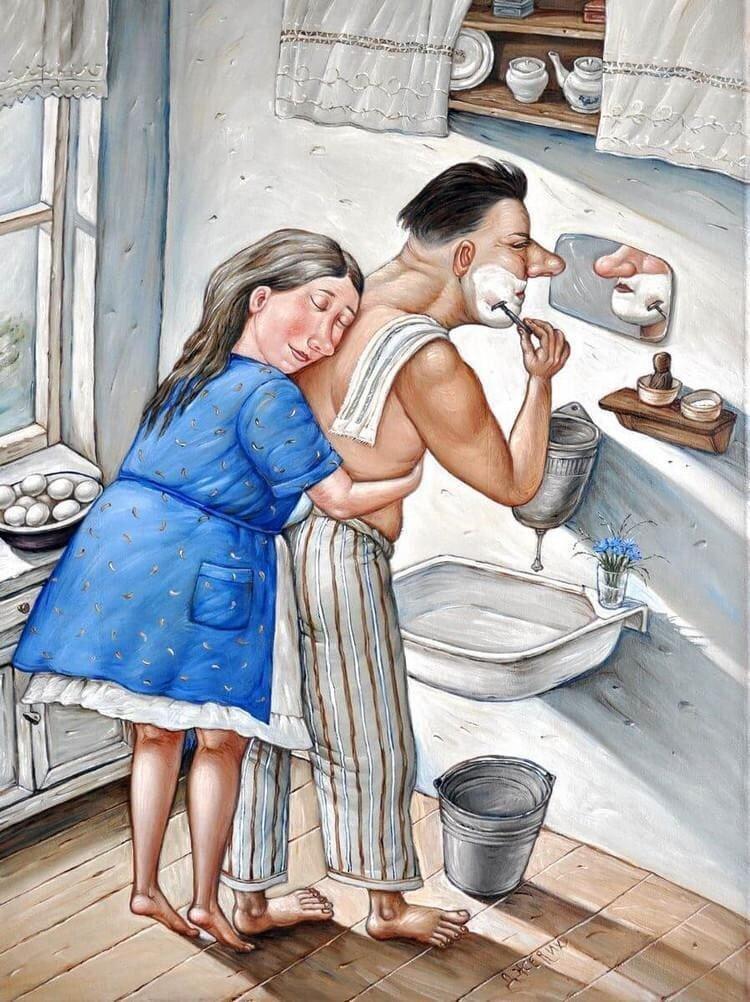 Ироничные картины Анжелы Джерих