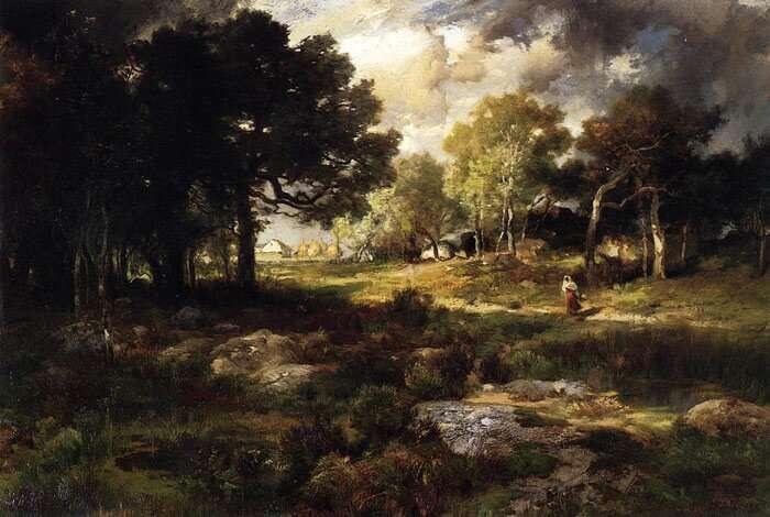Пейзажи Томаса Морана